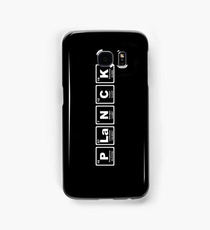 Planck - Periodic Table Samsung Galaxy Case/Skin