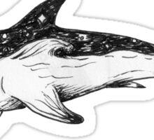 Night Shark Sticker