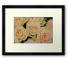 Pink Over Yellow Framed Print