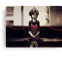 Lonely Smlie Canvas Print