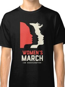 Women's March on Washington 2017 Official Classic T-Shirt