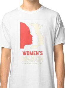 Women's March on Washington 2017 Official Classic T-Shirt