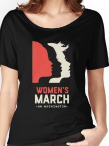 Women's March on Washington 2017 Official Women's Relaxed Fit T-Shirt