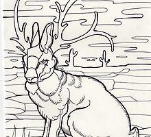 jackalope! by resonanteye