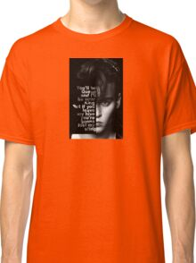 Crybaby Quote Classic T-Shirt