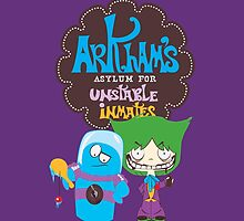 Bats Imaginary Friends, BlooFreeze and MacJoker by DoodleHeadDee
