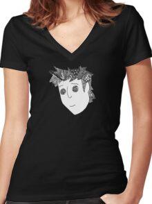 Trippy Gavin Free Women's Fitted V-Neck T-Shirt