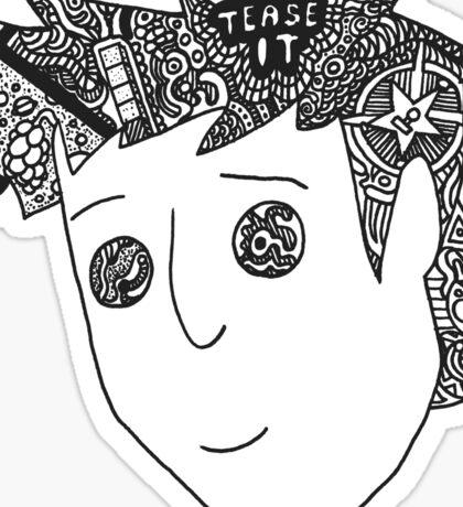 Trippy Gavin Free Sticker