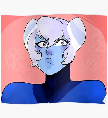 Holly Blue Agate-Steven Universe Poster