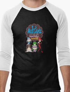 Bats Imaginary Friends, Frankie Quinn, Madam Riddler, and Herriguin Men's Baseball ¾ T-Shirt