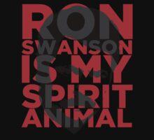 Ron Swanson Is My Spirit Animal Kids Clothes