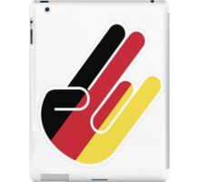 GERMAN SHOCKER iPad Case/Skin