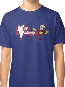 MAX VELOCITY! Logo art Classic T-Shirt