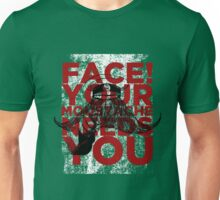 Face! Your Moustache Needs YOU! Unisex T-Shirt