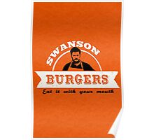 Swanson Burgers Poster