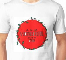 Wonderful Christmas Unisex T-Shirt