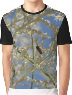 bees on the pony tail Graphic T-Shirt