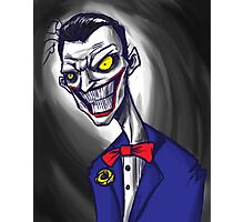Joker Portrait Photographic Print