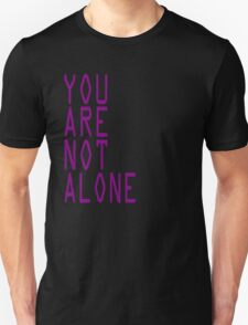 """Doctor Who Professor Yana """"You Are Not Alone"""" Tee T-Shirt"""