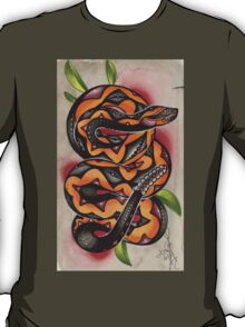 old timey snake tattoo T-Shirt