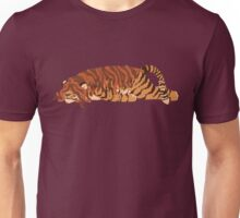 Tired Tiger With Dreads Unisex T-Shirt