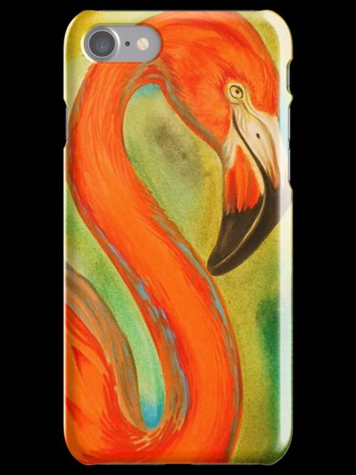 pink flamingo, large version by resonanteye