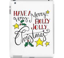 Holly Jolly Christmas iPad Case/Skin