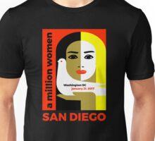 Women's March on San Diego, California January 21, 2017 Unisex T-Shirt
