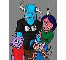 Monster Family Photographic Print