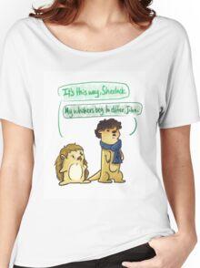 Johnlock Women's Relaxed Fit T-Shirt