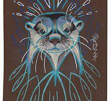 River Otter. by resonanteye
