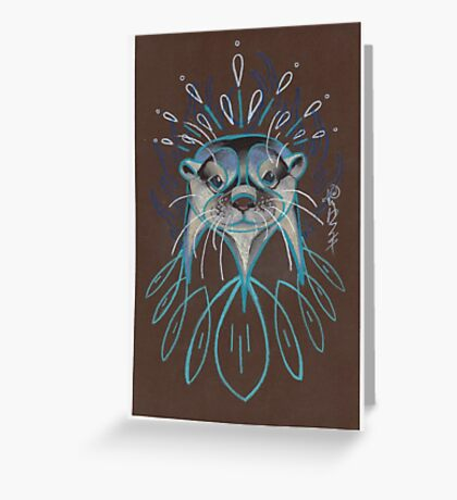 River Otter. Greeting Card