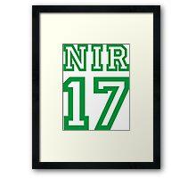 NORTHERN IRELAND 17 Framed Print