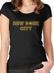 New Donk City Women's Fitted Scoop T-Shirt