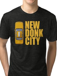 New Donk City Taxi Tri-blend T-Shirt