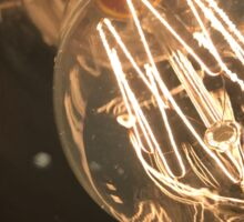 Artsy Lightbulb Sticker