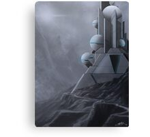 Temple of Science-Fiction Canvas Print
