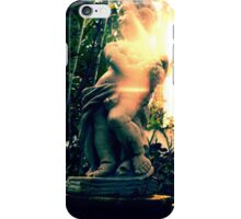 Two Frogs and a Putto iPhone Case/Skin