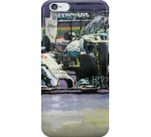 2014 F1 MERCEDES AMG PETRONAS  Lewis Hamilton vs Nico Rosberg iPhone Case/Skin