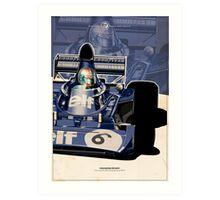 Francois Cevert - F1 1973 Art Print