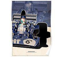 Francois Cevert - F1 1973 Poster
