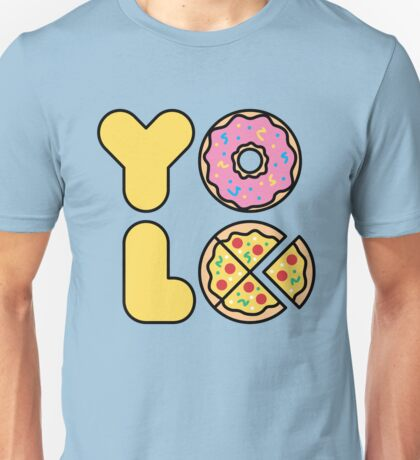 YOLO You Only Lift Once Unisex T-Shirt