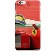 Michele Alboreto - F1 1985 iPhone Case/Skin