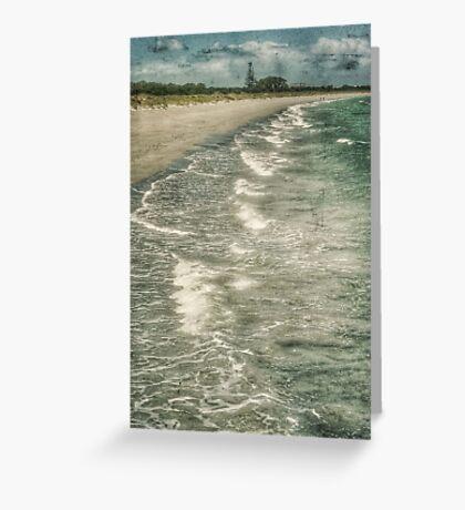 Woodmans Point Beach Greeting Card