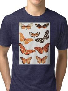 The Butterfly Book Collage II Tri-blend T-Shirt