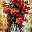 The Gift Of Fall — Buy Now Link - www.etsy.com/listing/209298451 by Leonid  Afremov
