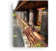 Dharma Wheels Canvas Print