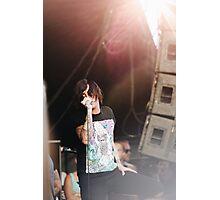 Kellin Quinn Warped Tour Photographic Print