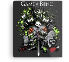 Game of Bones Metal Print