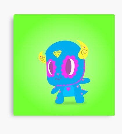Sully Popmuerto 2017   Monsters Inc Canvas Print
